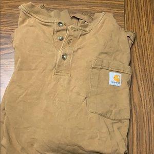 Men's 2XL carhartt long sleeve shirt